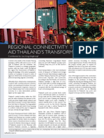 Regional Connectivity to Aid Thailand's Transformation