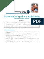 2009 12 Talleres Para Padres y Adolescentes