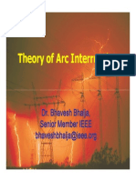 Theory of Arc Interruption