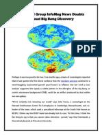 The Koyal Group InfoMag News Doubts Shroud Big Bang Discovery