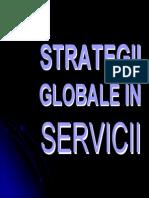 Strategii Globale in Servicii