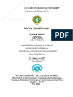 Review of Mac Protocols for Optical Network Seminar