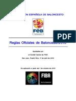 REGLAMENTO FIBA 2010