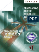 Translations for the School of Languages 3