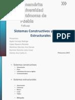 Sistemas Constructivos y Estructurales