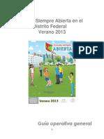 Guia Operativa Gral ProESA 2013