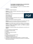 Reglamento Interno de Higiene y Seguridad Para Los Laboratorios Del Departamento de Química Industrial