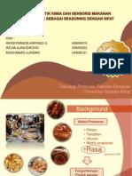 Kajian Karakteristik Kimia Dan Sensoris Makanan Tradisional Cabuk