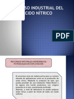 Proceso Industrial Del Acido Nítrico (1)