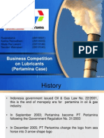 Pertamina - Marketing Case