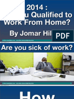 2014 Are You Qualified to Work From Home PDF by Jomar Hilario