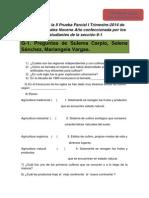 Preguntas Estudios Sociales II Parcial I Trim 2014