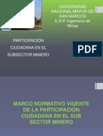 participacion cuidadana  en el subsector minero.pptx