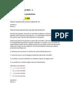 Evaluacion Nacional Diseno de Procesos Productivos 2013