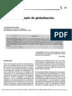 UNAM. Cruz Soto, Luis Antonio. Hacia Un Concepto de Globalización
