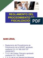 Procedimiento fiscalizacion