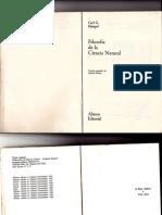 Filosofía de La Ciencia Natuarl C. II - Carl Hempel