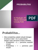 Teknik Simulasi Probabilitas