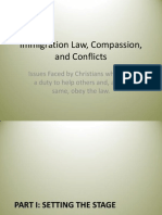Immigration Law, Compassion, And Conflicts