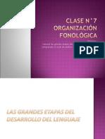 Clase 7 Sistema Fonológico