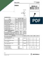 Data Sheet Bc 547