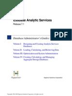 Essbase Analytic Services