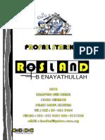 Profail Syarikat Rosland