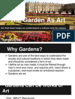 gardens as art