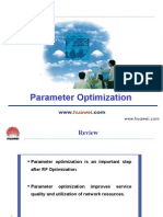 Huawei Parameter Optimization