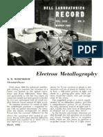 Bell Laboratories Record 1952 03