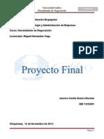 Proyecto Final 2013 Herramientas de Negociacion