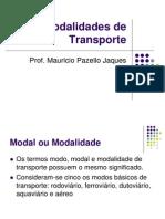 Logística II - 01 - Modalidades de Transporte.ppt