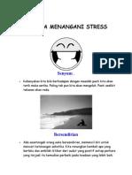 10 Cara Menangani Stress