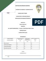 3.5 Desarrollo Organizacional