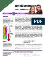 newsletter janurary 2013
