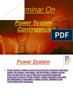Power System Contingencies