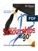 Scholarships for Secondary and Tertiary Students 2014 Published by the Gleaner Compnay