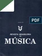 01 - Revista Brasileira de Musica - Volume XVIII
