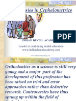 Controv Ersies in Cephalometrics / orthodontic courses by Indian dental academy