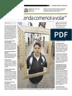 Entrevista a Negcio de Artesanias