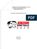 Visi Misi Jokowi-jk