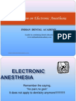 Electronic Anesthesia / orthodontic courses by Indian dental academy