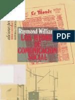 Williams, Raymond - Los medios de comunicación social (1971)