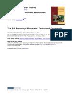 Bali Bombings Memorial