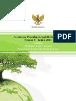 Peraturan Presiden Nomor 62 Tahun 2011 tentang Rencana  Aksi Nasional Penurunan Emisi Gas Rumah Kaca