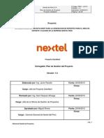 Plan de Gestión de Proyectos 1.0
