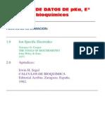 Tablas Datos Bioquimicos 2357