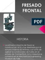Fresado Frontal