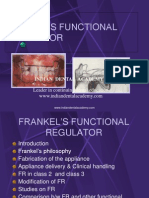 Frankel's Functional Regulator / orthodontic courses by Indian dental academy