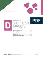 Materials D Targets